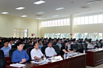 Triển khai tập huấn nghiệp vụ tổ chức kỳ thi THPT quốc gia 2018