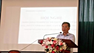Giám đốc Sở GD&ĐT kết luận tại Hội nghị.