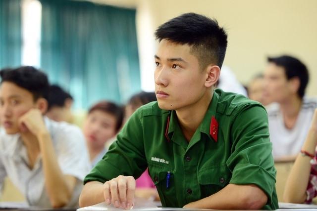 Điểm chuẩn tuyển sinh trường quân đội 2018