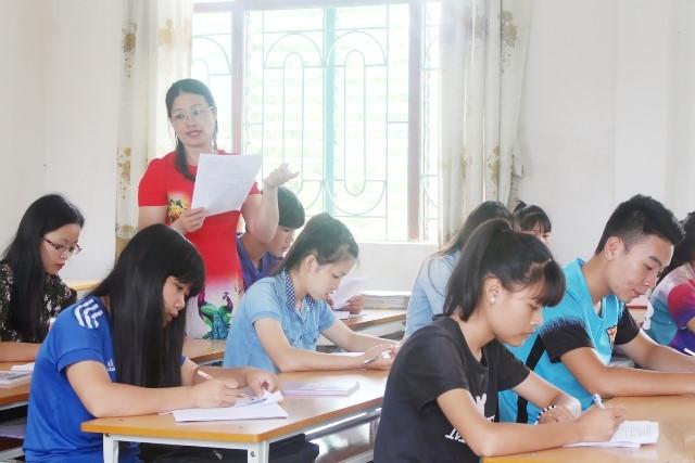 Các trường chủ động  trước Kỳ thi THPT quốc gia