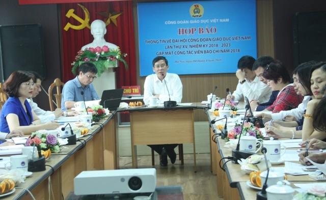Đại hội Công đoàn Giáo dục Việt Nam sẽ diễn ra từ 19-20/4/2018