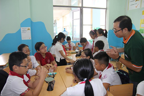 Trường THCS Hà NộI – Thăng Long: Tuyển sinh lớp 6