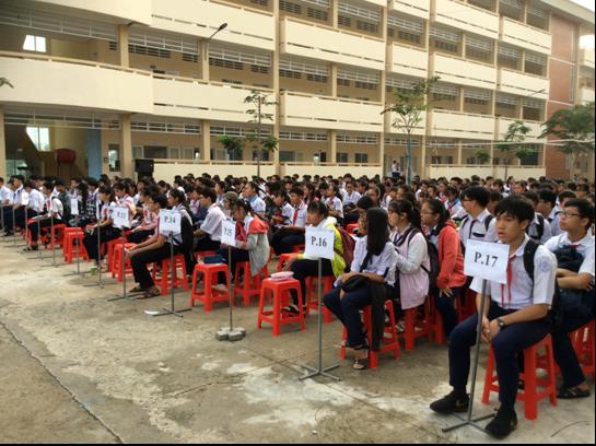 Cần Thơ: 375 thí sinh tranh tài Kỳ thi chọn HS giải Toán bằng tiếng Anh, tiếng Pháp