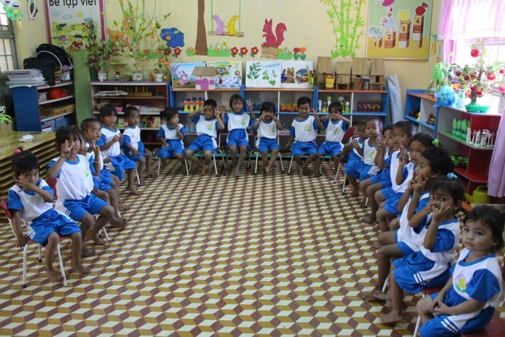 Giáo dục mầm non ngoài công lập Kon Tum: Những tín hiệu  tích cực