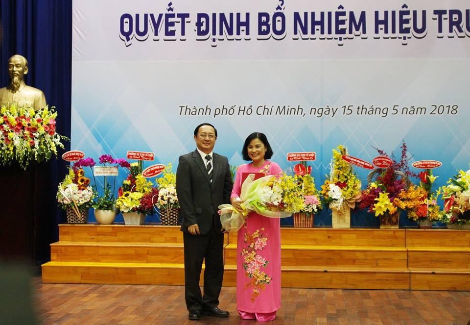 Trường ĐH KHXH&NV TPHCM có nữ hiệu trưởng đầu tiên và trẻ nhất