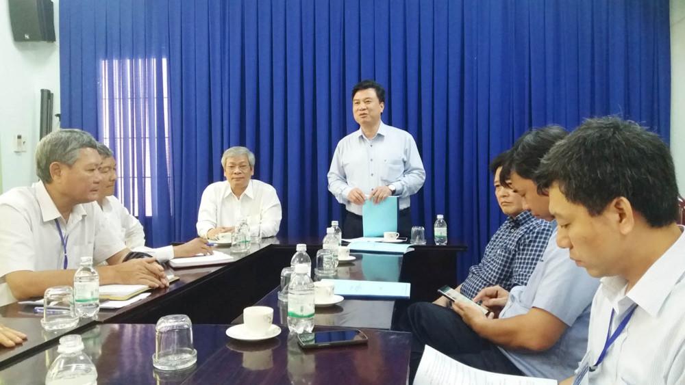Thứ trưởng Nguyễn Hữu Độ: Giám thị cần thận trọng trong khâu thu, niêm phong bài thi