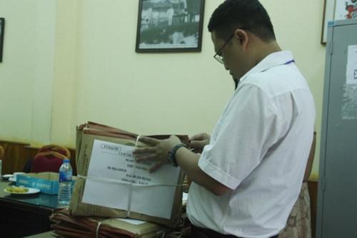 Đề thi THPT quốc gia đã đến các điểm thi an toàn - Ảnh minh hoạ 3