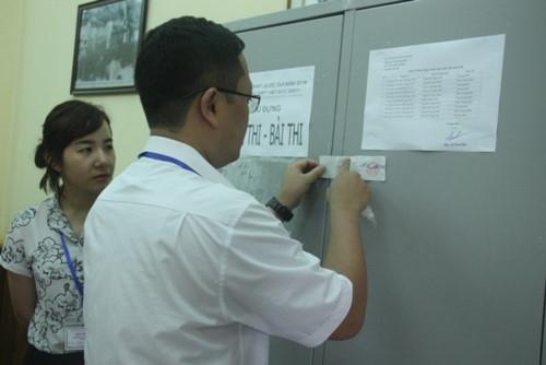 Đề thi THPT quốc gia đã đến các điểm thi an toàn - Ảnh minh hoạ 5