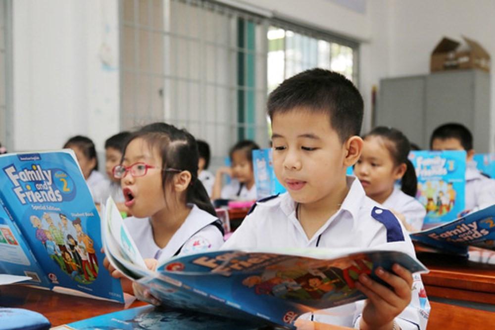 Triển khai dạy Tiếng Anh 4 tiết/tuần với trường tiểu học đủ điều kiện