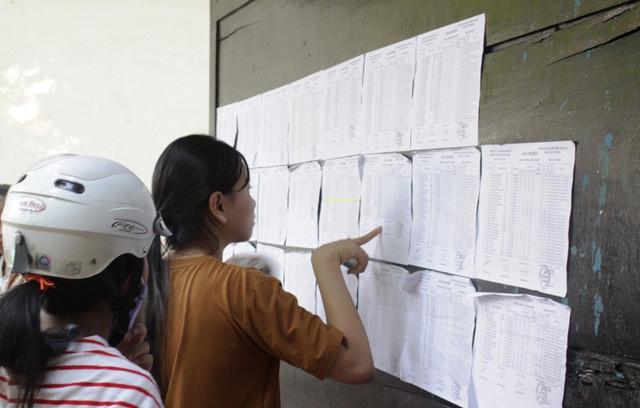 Nam Định công bố điểm trúng tuyển vào lớp 10