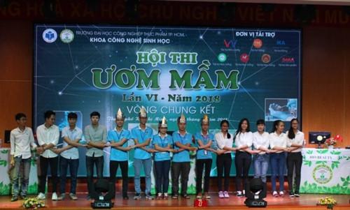 Trường ĐH Bách Khoa TPHCM giành giải quán quân Hội thi Ươm mầm lần VI - Ảnh minh hoạ 3