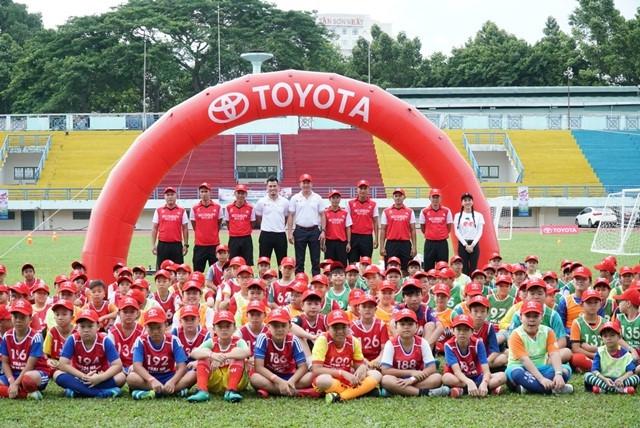 Gần 700 cầu thủ nhí tham gia vòng sơ tuyển Trại hè Bóng đá thiếu niên Toyota 2018 tại TPHCM