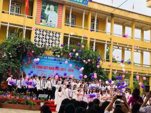 Sở GD&ĐT Lào Cai trực tiếp hướng dẫn, chỉ đạo tổ chức lễ tri ân, trưởng thành - Ảnh minh hoạ 6