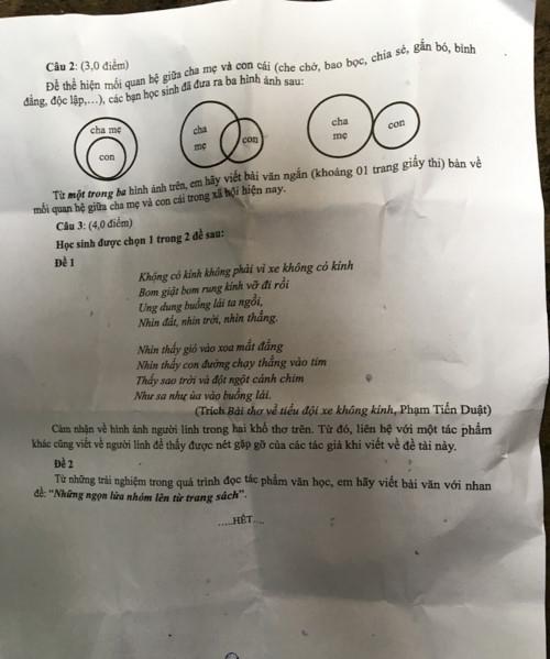 Thi vào lớp 10 tại TPHCM: Ô nhiễm rác thải nhựa, tình cảm gia đình… vào đề thi Văn - Ảnh minh hoạ 4