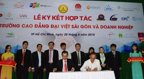 Trường Cao đẳng Đại Việt Sài Gòn cùng Doanh nghiệp thực hiện cam kết việc làm với sinh viên - Ảnh minh hoạ 4