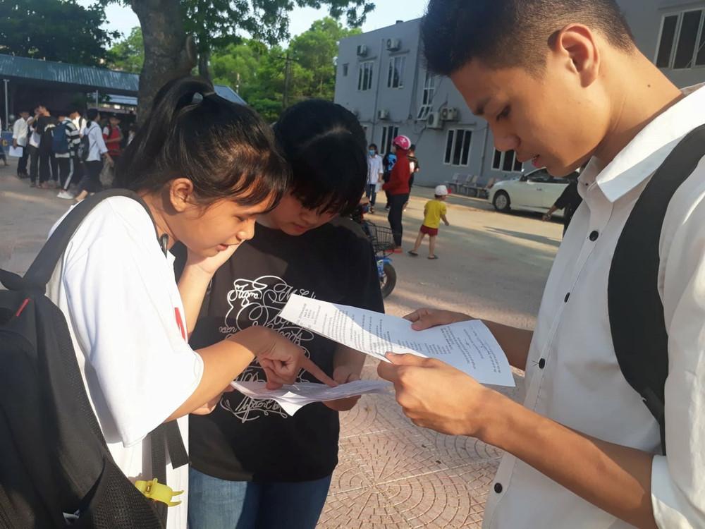 Hưng Yên: hơn 14.000 thí sinh bước vào kỳ thi tuyển sinh lớp 10