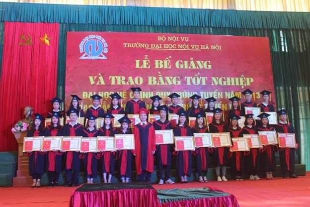 Trường Đại học Nội vụ Hà Nội thông báo ngưỡng điểm nhận hồ sơ xét tuyển ĐH, CĐ hệ chính quy năm 2018