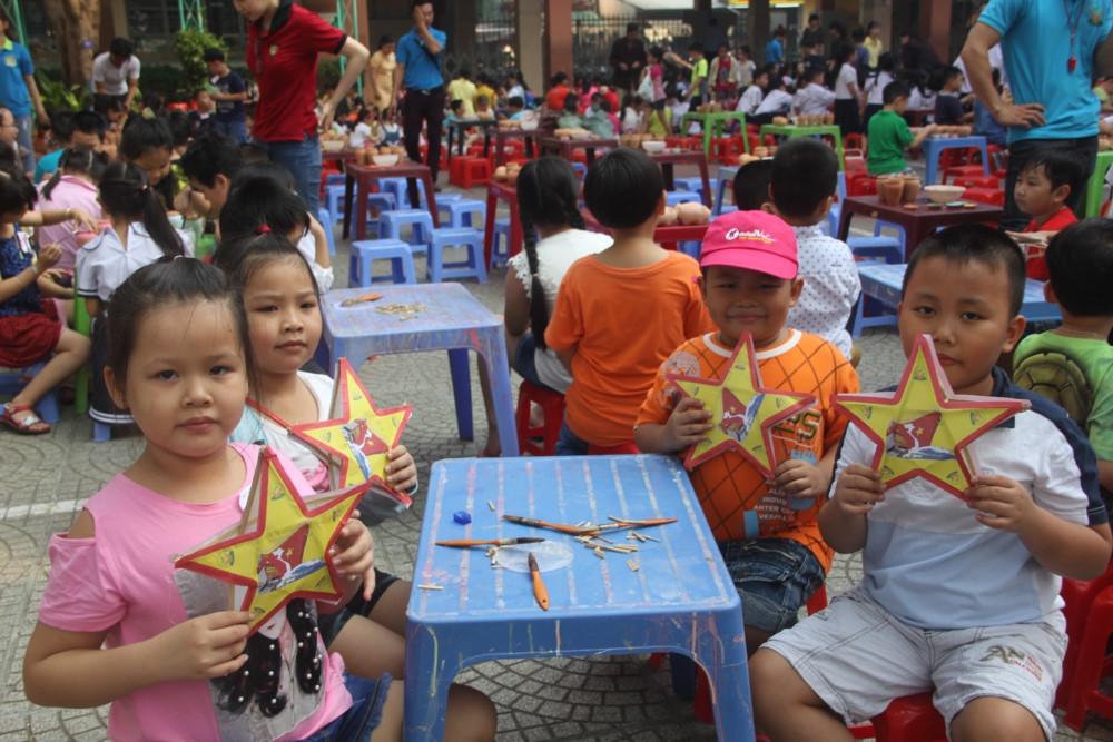 Chia sẻ kinh nghiệm xây dựng trường mầm non lấy trẻ làm trung tâm