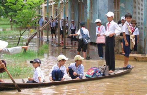 Sơn La: cơ sở giáo dục chủ động phòng chống mưa lũ
