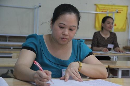 Hòa Bình: Có bài thi được chấm điểm 9 môn Ngữ văn