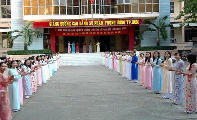 Trường CĐ Sư phạm Trung ương TPHCM công bố điểm chuẩn trúng tuyển