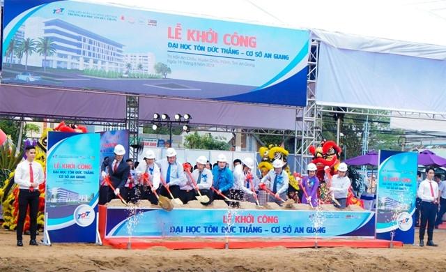 ĐH Tôn Đức Thắng: Hơn 600 tỷ đồng xây dựng cơ sở tại An Giang