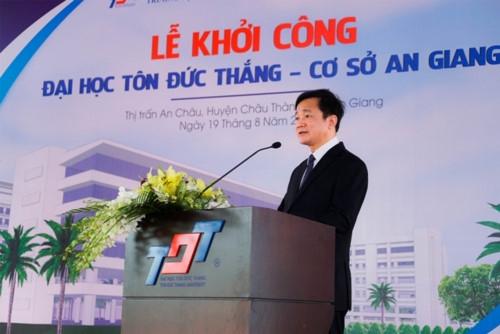 ĐH Tôn Đức Thắng: Hơn 600 tỷ đồng xây dựng cơ sở tại An Giang - Ảnh minh hoạ 3