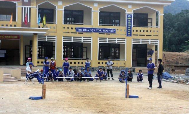 Đổi thay từ những ngôi trường mới
