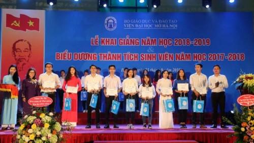 Viện Đại học Mở Hà Nội khai giảng năm học 2018 – 2019 - Ảnh minh hoạ 3