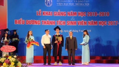 Viện Đại học Mở Hà Nội khai giảng năm học 2018 – 2019 - Ảnh minh hoạ 2