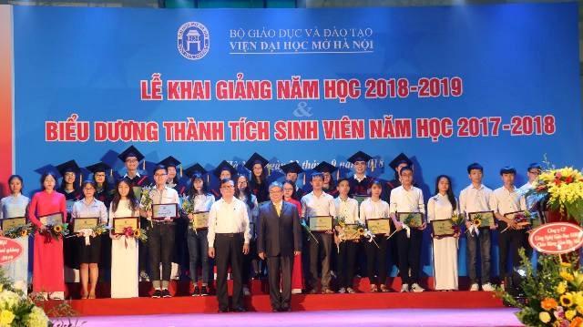 Viện Đại học Mở Hà Nội khai giảng năm học 2018 – 2019