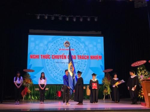 Trường ĐH Bình Dương khai giảng và kỷ niệm 21 năm thành lập - Ảnh minh hoạ 3