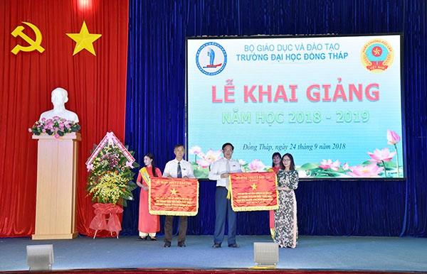 Trường ĐH Đồng Tháp khai giảng năm học 2018 - 2019