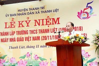 Trường THCS Thanh Liệt (Thanh Trì, Hà Nội) kỷ niệm 55 năm thành lập