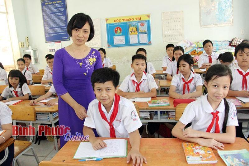 Bình Phước thiếu 1.243 biên chế giáo viên