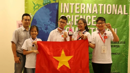 Học sinh Việt Nam tỏa sáng tại kì thi Khoa học quốc tế ISC 2018 - Ảnh minh hoạ 3