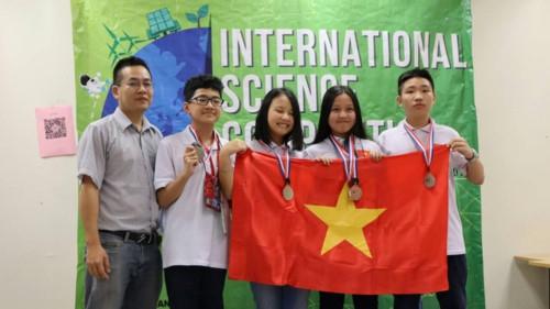 Học sinh Việt Nam tỏa sáng tại kì thi Khoa học quốc tế ISC 2018 - Ảnh minh hoạ 7