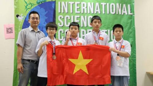 Học sinh Việt Nam tỏa sáng tại kì thi Khoa học quốc tế ISC 2018 - Ảnh minh hoạ 13