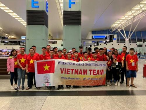Học sinh Việt Nam tỏa sáng tại kì thi Khoa học quốc tế ISC 2018 - Ảnh minh hoạ 16