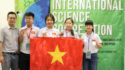 Học sinh Việt Nam tỏa sáng tại kì thi Khoa học quốc tế ISC 2018 - Ảnh minh hoạ 17