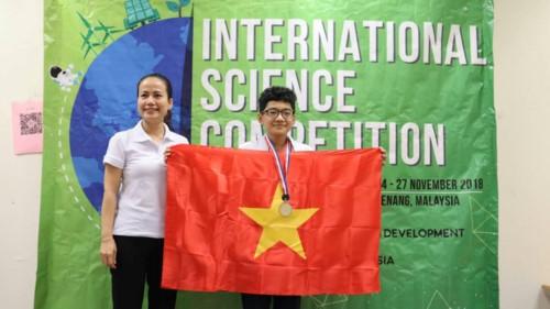 Học sinh Việt Nam tỏa sáng tại kì thi Khoa học quốc tế ISC 2018 - Ảnh minh hoạ 19