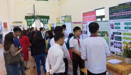 Ngành GD Việt Trì (Phú Thọ) tổ chức thành công cuộc thi Khoa học kỹ thuật - Ảnh minh hoạ 3