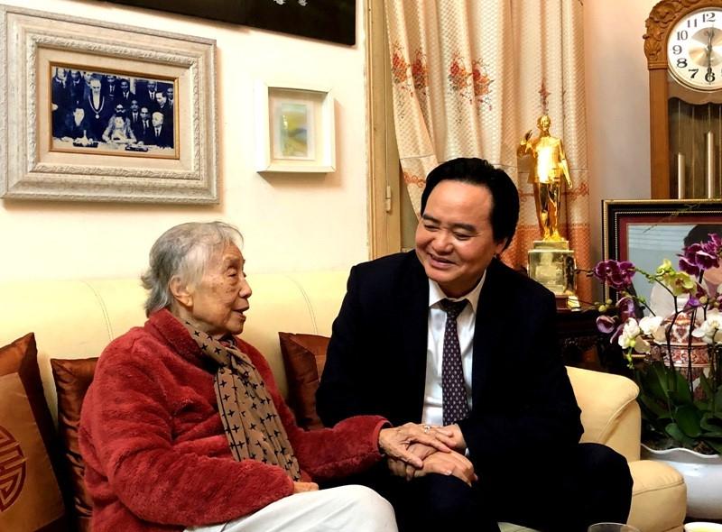 Mong mỏi của Nguyên Phó Chủ tịch nước gửi gắm Bộ trưởng Phùng Xuân Nhạ