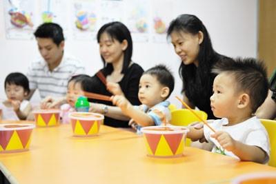 Quan tâm chăm sóc phát triển toàn diện trẻ em trong những năm đầu đời