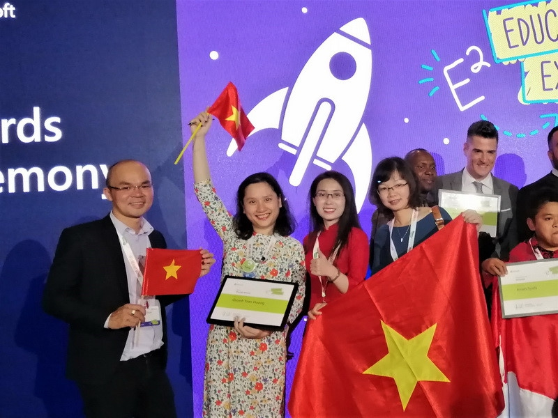 Giáo viên Việt Nam nhận giải cao nhất tại Diễn đàn giáo dục toàn cầu
