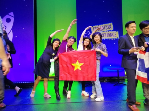 Giáo viên Việt Nam nhận giải cao nhất tại Diễn đàn giáo dục toàn cầu - Ảnh minh hoạ 3