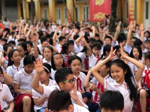 Hơn 1000 trường học Hà Nội tuyên truyền phòng chống bạo lực, xâm hại trẻ em - Ảnh minh hoạ 3