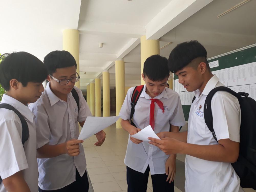 Đà Nẵng công bố điểm chuẩn vào lớp 10 năm học 2019-2020