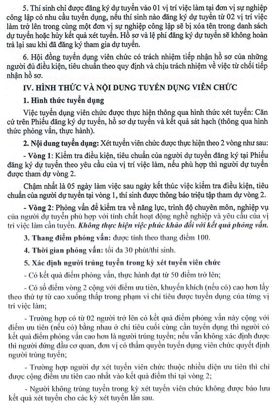 UBND Quận 1, TP.Hồ Chí Minh tuyển dụng viên chức giáo dục năm học 2019 – 2020 - Ảnh minh hoạ 6