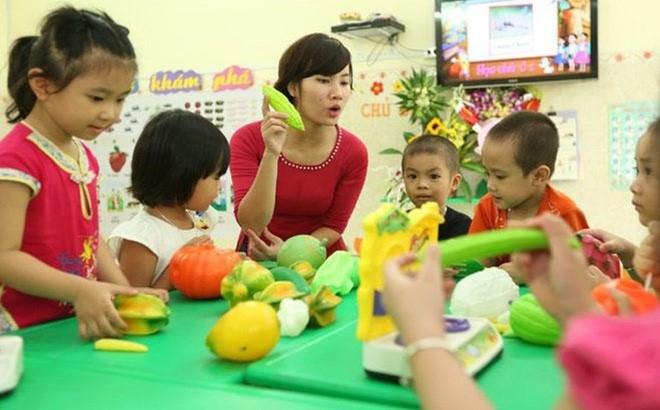 Hà Nội có 2668 cơ sở giáo dục mầm non ngoài công lập